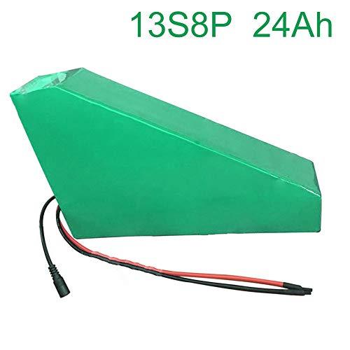 48V 24Ah 13S8P Li-ion Batería Bicicleta eléctrica E-Bike Ebike 265 * 250 * 180 * 70 * 70 * 45 mm