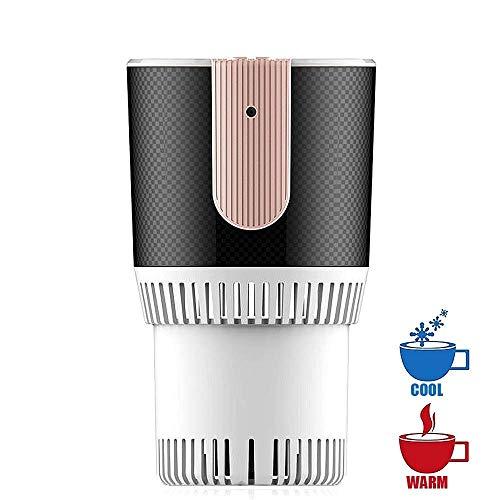 Schnelle Auto-Kühlbox & Wärmebecher, Mini-Desktop-Schnellkühlbecher Energieeffizienter elektronischer Getränke- / Bier- / Weinkühler, Tassen-Eismaschine zum Einfrieren von Wasser ( Color : White )