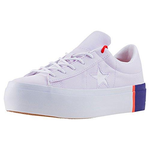 Converse One Star Platform Ox Damen Sneakers Light Pink - 5 UK Converse One Frauen