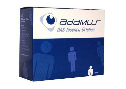 Adamus Reisetoilette Notfall- WC, Taschenörtchen für Männer, 5 -er Pack Männer 5-er Pack / Taschen- Örtchen -