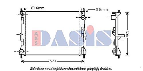 AKS Dasis 070067N Kühler, Motorkühlung