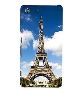 Fuson Designer Phone Back Case Cover Sony Xperia M5 Dual :: Sony Xperia M5 E5633 E5643 E5663 ( Paris Is Love )