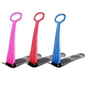 Cosy-Fold-Up Snowboard Sledge Faltbarer Tretroller für Schnee und Gras. Einfacher Griff für Erwachsene (ab 4 Jahren) und Erwachsene (max. Gewicht: 220 lb.)