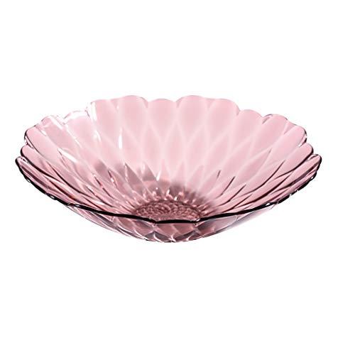 ZXCC Einfache kreative Obstteller, Wohnzimmer, moderner Couchtisch, Candy Dish (Farbe : Blau, größe : XL) Blue Glass Candy Dish