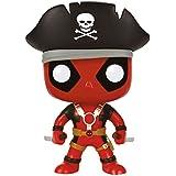 Funko - Figurine Marvel - Deadpool Pirate Exclu Pop 10cm - 0849803074906