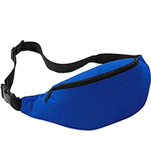 Marsupio Jaminy attività all' aperto, resistente all' acqua, confezione, anca della vita borsa da viaggio, unisex Outdoor Sports running waist bag viaggio borsa impermeabile, Dark Blue Dark Blue