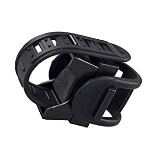 AmazingDays 360 Degree Cycling Bicycle Bike Mount Holder for LED Flashlight Torch Clip Clamp