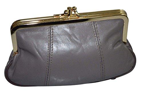 porte-monnaie-retro-vintage-a-fermoir-clic-clac-en-cuir-dagneau-noir-couleurs-au-choix-neuf-gris