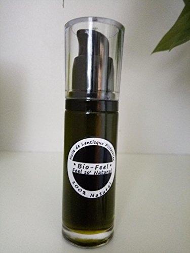 Bio-Feel - Huile de Lentisque Pistachier, Huile 100% pure et végétale (35ml)