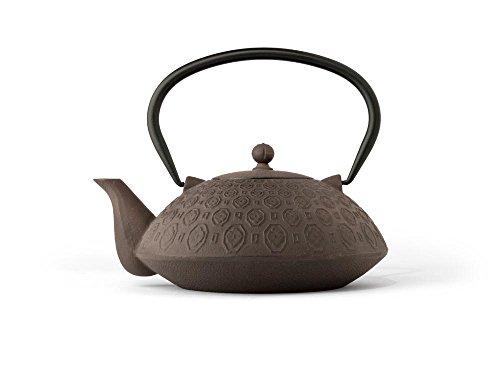 G017BB Teekanne Gusseisen Yinan 1,1 L, schwarzbraun