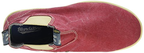 Blundstone Unisex-Erwachsene Canvas Chelsea Boots Rot (Red)