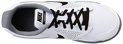 Nike - Cp Trainer 2, Sneakers da uomo Weiß (White/Black-Cool Grey 100)