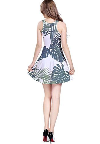 CowCow - Robe - Femme Violet Violet Beige - Palm Tree