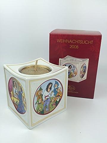 Hutschenreuther Porzellan Weihnachtslicht Licht (Tischlicht, Teelicht) 2008 in der Originalverpackung NEU 1.Wahl