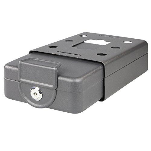 HMF 307-02 Dokumentenbox anschraubbar für Wohnmobil, Boot etc. 20,0 x 15,5 x 7,0 cm , schwarz - 4