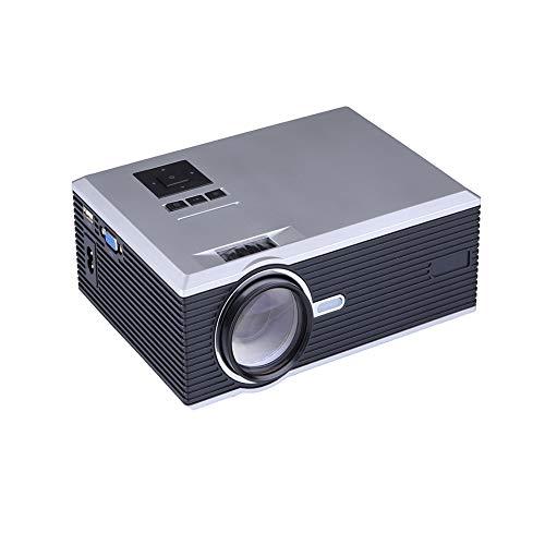 JYL Freizeit-Mini-Projektor, 1500 Lumen tragbares Heimkino, 1080P unterstützt, 130-Zoll-Projektionsgröße, kompatibel mit USB, SD, HDMI, VGA 37 In 1080p Lcd Tv