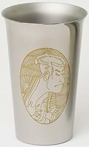 Horie titane tasse de bi?re Kazumi Sharaku et Utamaro (Japon import / Le paquet et le manuel sont ?crites en japonais)
