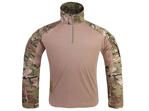 Paintball Equipment Herren Militär Airsoft BDU Shirt Combat Gen3Tactical Hemd Multicam MC, Herren, Multicam, X-Large