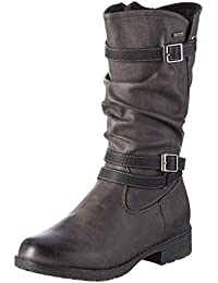 Indigo Mädchen Stiefelette Kurzschaft Stiefel