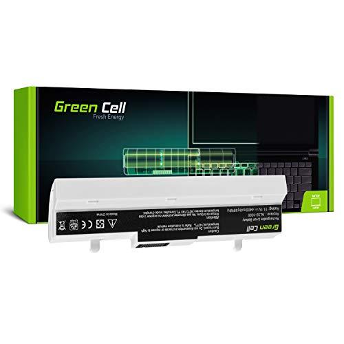 Green Cell Standard Serie AL32-1005 Laptop Akku für ASUS Eee PC 1001 1001HA 1001PX 1001PXD | 1005 1005H 1005HA 1005P 1005PXD | R101 (6 Zellen 4400mAh 10.8V Weiß) (1001pxd Pc Eee)