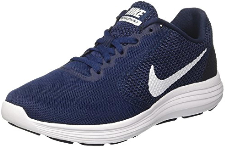 Nike Herren Revolution 3 Laufschuhe  Grau  Billig und erschwinglich Im Verkauf