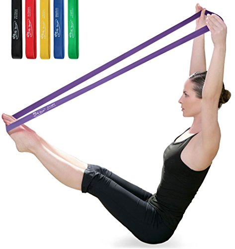 JollySports Resistance Bands Set 6 Loop Best