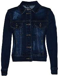 A2Z 4 Kids® Niños Niñas Denim Chaquetas Diseñador Desgastado Moda Pantalones Vaqueros Elegante Abrigos Nueva Edad 3 4 5 6 7 8 9 10 11 12 13 Años