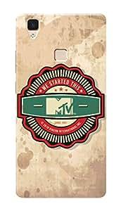 MTV Gone Case Mobile Cover for Vivo V3Max
