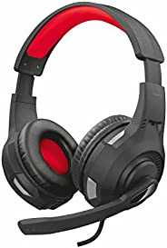 Trust Cuffie Gaming GXT 307 Ravu con Microfono Ripiegabile e Archetto Regolabile, 3.5 mm Jack, Filo, Over Ear,