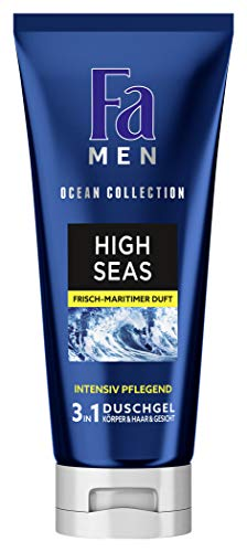 Fa MEN 3in1 Duschgel Ocean Collection High Seas mit frisch-maritimen Duft, 200 ml