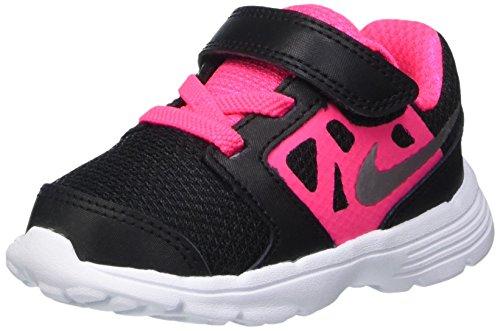 Nike Downshifter 6 (TD), Chaussures Premiers Bébé Fille, Black/Metallic, 11 EU