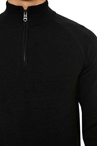 Threadbare - Pull - Homme noir noir noir profond