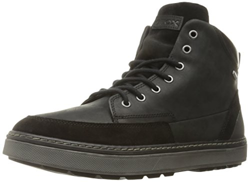 Geox U Mattias B Abx B, Sneakers alte Uomo, Nero (BLACKC9999), 44 EU