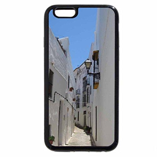 iPhone 6S / iPhone 6 Case (Black) Narrow street in Vejer de la Frontera, Spain