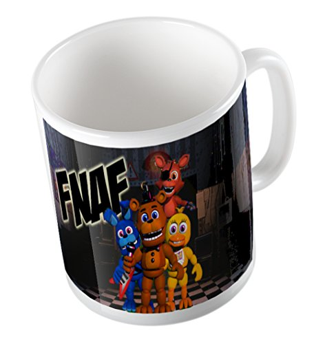 FOUR CHARACTERS FIVE NIGHTS AT FREDDY'S MUG
