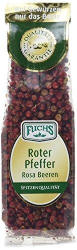 Fuchs Roter Pfeffer / Rosa Beeren, 2er Pack (2 x 30 g) - Rote Pfefferkörner