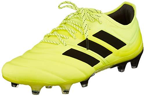 adidas Herren Copa 19.1 FG Fußballschuhe, Gelb Core Black/Solar Yellow 0, 44 2/3 EU