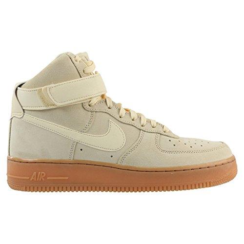 Nike Herren Air Force 1 High '07 LV8 Beige Wildleder Sneaker 44.5 (High-top Nike-turnschuhe Für Männer)