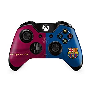 FC Barcelona Offizielle Fußball Skin Aufkleber Xbox One Controller – ideal für Weihnachten, Geburtstagsgeschenk Idee Männer und Jungen