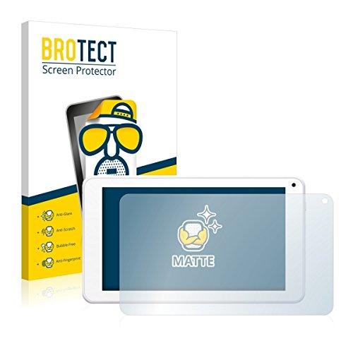 2X BROTECT Matt Displayschutz Schutzfolie für BigBen Unity Tab 7 (matt - entspiegelt, Kratzfest, schmutzabweisend)