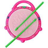 Ruchiez Flash Drum With 3D Multi Colour Light And Music For Kids