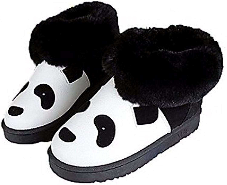 ZHUDJ Chaussures pour Femmes Automne Hiver Hiver Hiver Doublure Peluches Nouveauté Confort des Bottes Bottes Mode Bootie Boots...B077RY66WFParent 3c3a51