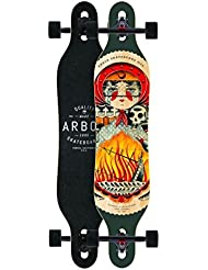 Arbor Longboard complete board Axis GT 40.0 x 9.0 inch Cruiser Carver Drop Through - Special Edition with Koston ball bearings - Drop Through Longboard