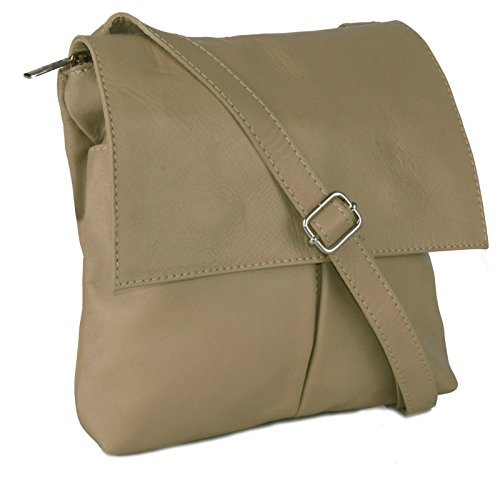 Big Handbag Shop, tracolla da donna, grande Dark Beige