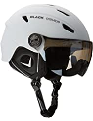 Black Crevice Casco  Blanco M (57-58 cm)