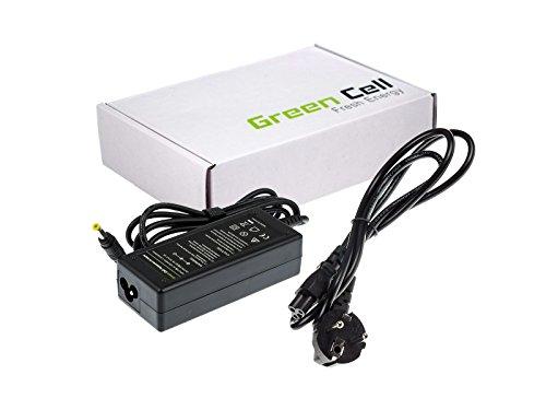 Preisvergleich Produktbild Green Cell® Netzteil / Ladegerät inkl. Stromkabel für Notebook / Laptop HP Compaq Presario V3738AU (Ausgangsspannung: 18.5V 3.5A 65W, Steckermaße: 4.8-1.7mm)