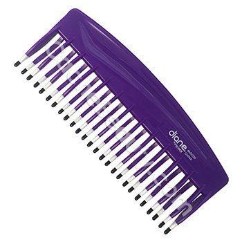 Mebco Double Dip Volume Detangler Comb V200 Purple by Mebco