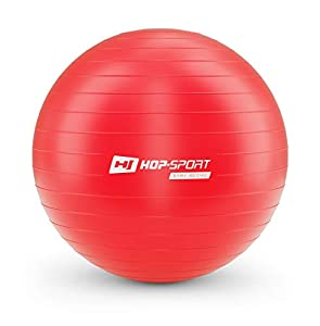 Hop-Sport Gymnastikball inkl. Ballpumpe, 45 55 65 75 85 cm,...