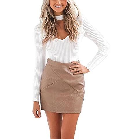 Long White Halter Dress - Pull Femme Sexy Halter col V à