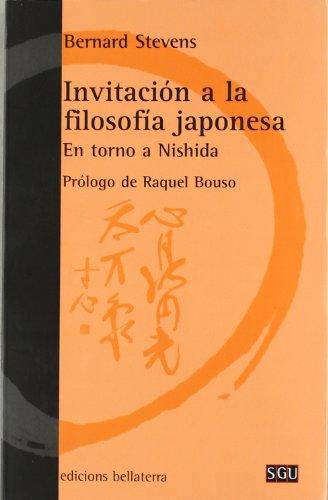 Invitación a la filosofía japonesa (General Universitaria)
